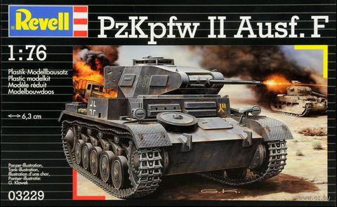 """Сборная модель """"Немецкий легкий танк PzKpfw II Ausf. F"""" (масштаб: 1/76) — фото, картинка"""