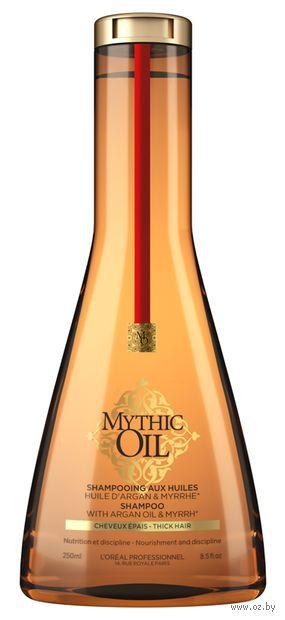 """Шампунь для волос """"Mythic Oil. Для плотных волос"""" (250 мл) — фото, картинка"""