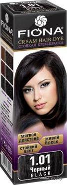"""Крем-краска для волос """"Fiona"""" (тон: 1.01, черный)"""