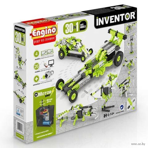 """Конструктор """"Inventor. 30 моделей с мотором"""" (120 деталей) — фото, картинка"""