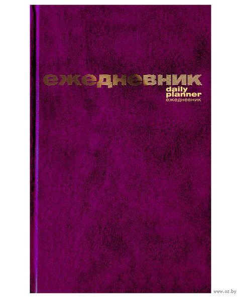 """Ежедневник недатированный """"Бумвинил"""" (А5; бордовый) — фото, картинка"""