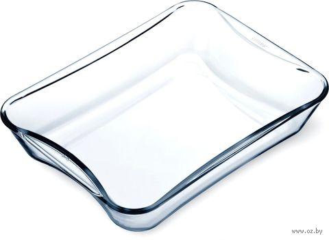 Форма для запекания стеклянная (350х270х62 мм) — фото, картинка