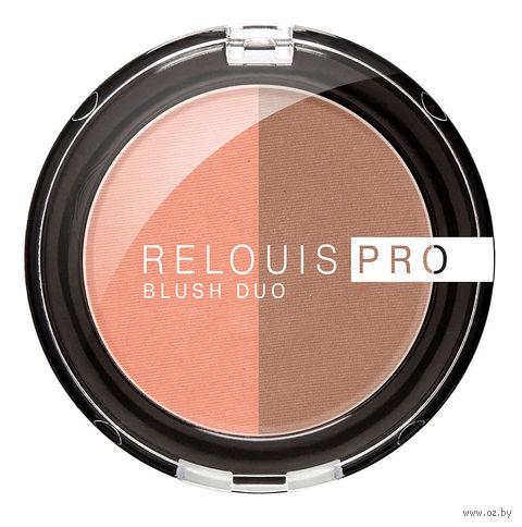 "Румяна ""Relouis Pro Blush Duo"" (тон: 203) — фото, картинка"