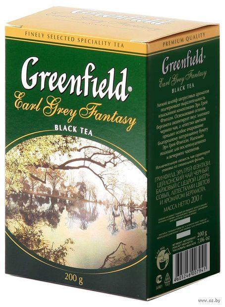 """Чай черный листовой """"Greenfield. Earl Grey Fantasy"""" (200 г) — фото, картинка"""