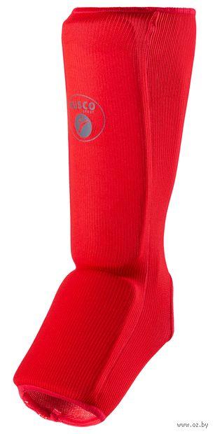 Защита голень-стопа (S; красная) — фото, картинка