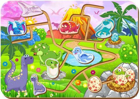 "Лабиринт ""Динозавры"" — фото, картинка"