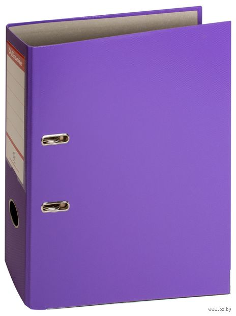 """Папка-регистратор """"Esselte"""" (А4; 75 мм; фиолетовая) — фото, картинка"""