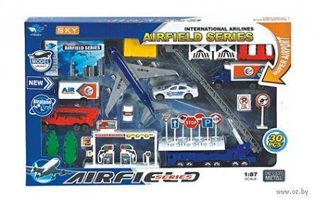 """Игровой набор """"Аэродром"""" (арт. И-4688) — фото, картинка"""