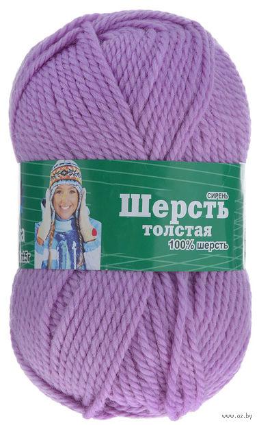 """Пряжа """"Астра. Wool XL"""" (сиреневая; 100 г; 110 м) — фото, картинка"""