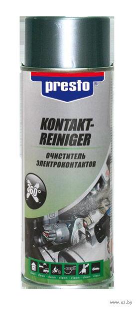Очиститель электроконтактов Presto (0,4 л) — фото, картинка