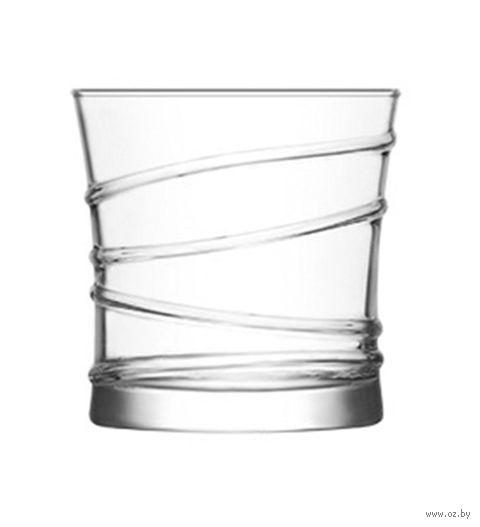 """Стакан для виски стеклянный """"Ring"""" (6 шт.; 320 мл) — фото, картинка"""