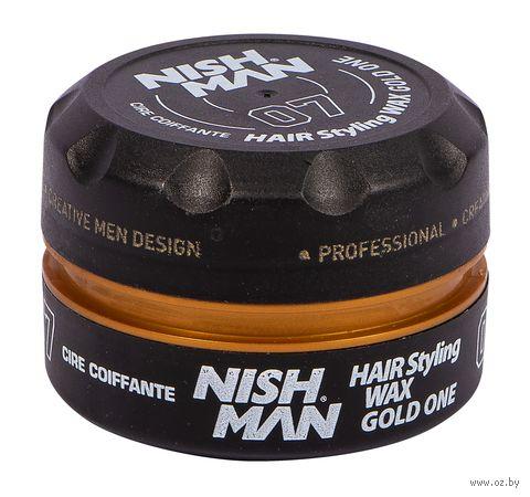 """Воск для укладки волос """"Gold One"""" сильной фиксации (100 мл) — фото, картинка"""