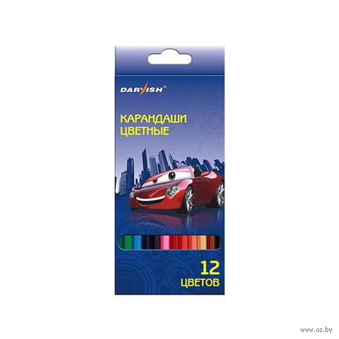 """Набор карандашей цветных """"Darvish"""" (12 цветов)"""