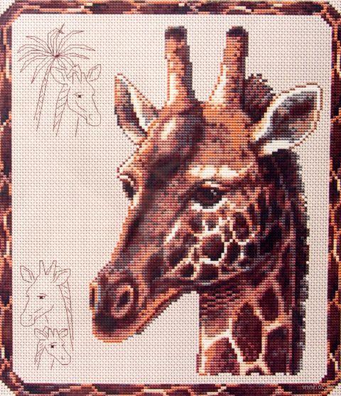 "Вышивка крестом ""Жираф"" — фото, картинка"