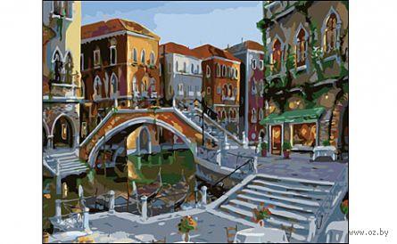 "Картина по номерам ""Улицы Венеции"" (400x500 мм) — фото, картинка"