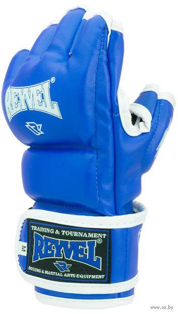 Перчатки для ММА (L; синие) — фото, картинка