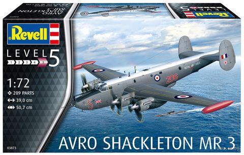 "Сборная модель ""Самолет Avro Shackleton MR.3"" (масштаб: 1/72) — фото, картинка"