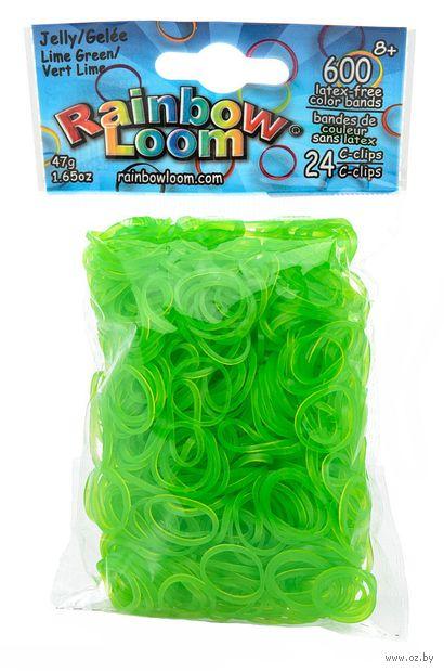 """Набор резиночек для плетения """"Rainbow Loom. Зеленый лайм"""""""