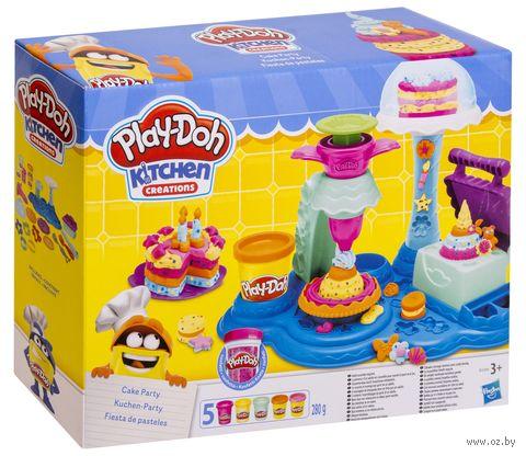 """Набор для лепки """"Play-Doh. Сладкая вечеринка"""" — фото, картинка"""