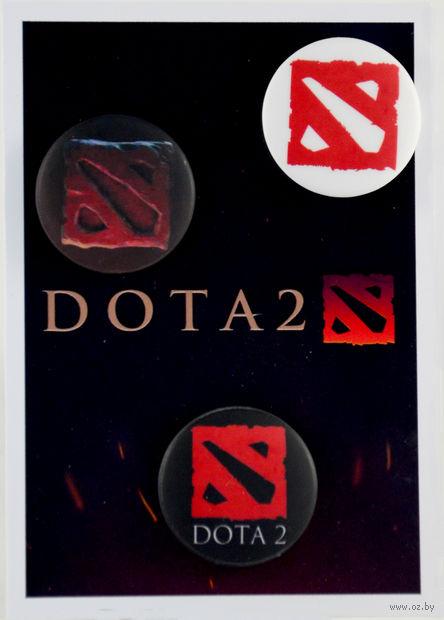 "Набор значков маленьких ""Dota 2"" (арт. 079) — фото, картинка"