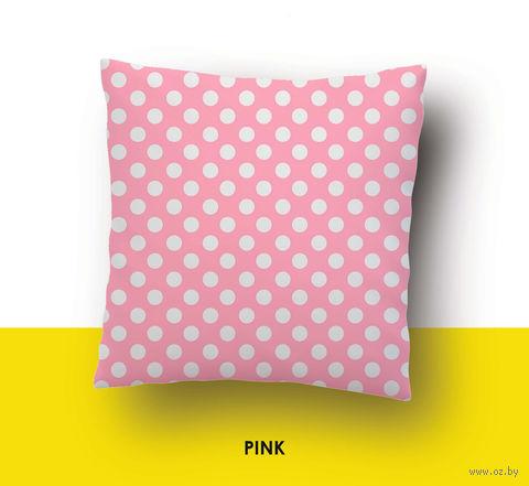 "Наволочка хлопковая ""Pink"" (50x70 см) — фото, картинка"
