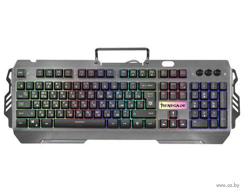 Клавиатура игровая Defender Renegade GK-640DL RU — фото, картинка