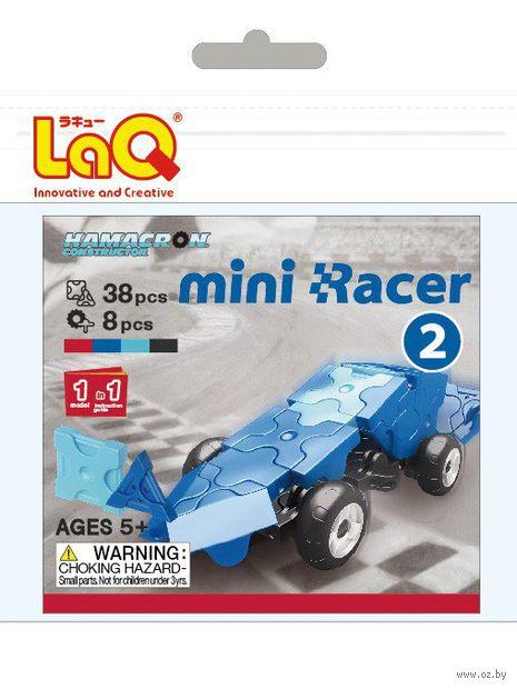 "Конструктор ""LaQ. Mini Racer Blue"" (38 деталей)"