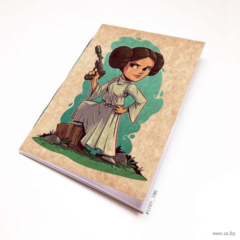 """Блокнот крафт """"Звездные войны"""" А5 (арт. 894)"""