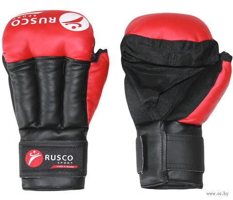 Перчатки для рукопашного боя (12 унций; красные) — фото, картинка