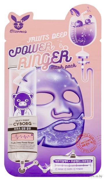 "Тканевая маска для лица ""Фруктовая"" (23 мл) — фото, картинка"