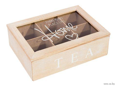 Шкатулка для чая (240х160х70 мм) — фото, картинка