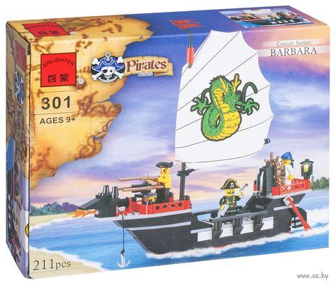 """Конструктор """"Pirates. Пиратский корабль"""" (211 деталей)"""