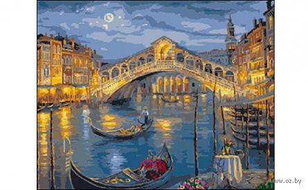 """Картина по номерам """"Венеция. Мост Риальто"""" (400x500 мм) — фото, картинка"""