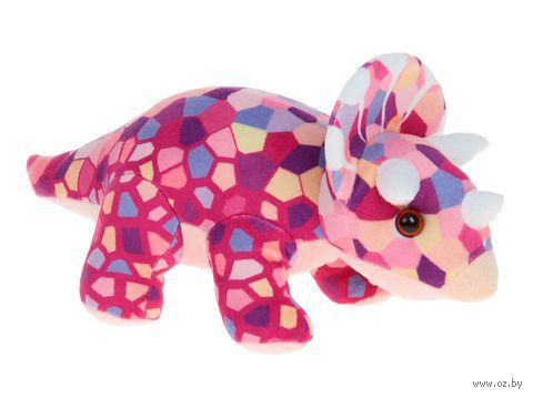 """Мягкая игрушка """"Динозавр. Трицераптос"""" (17 см) — фото, картинка"""