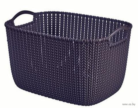 """Корзина """"Knit S"""" (фиолетовая) — фото, картинка"""