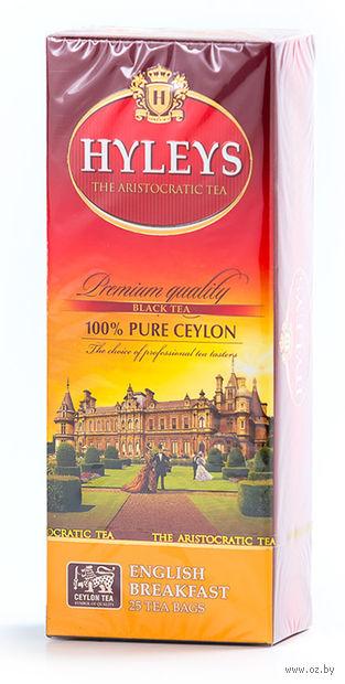"""Чай черный """"Hyleys. Английский завтрак"""" (25 пакетиков) — фото, картинка"""