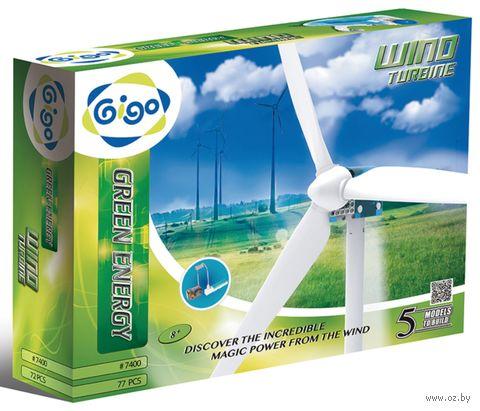 """Конструктор """"Энергия ветра"""" (77 деталей) — фото, картинка"""