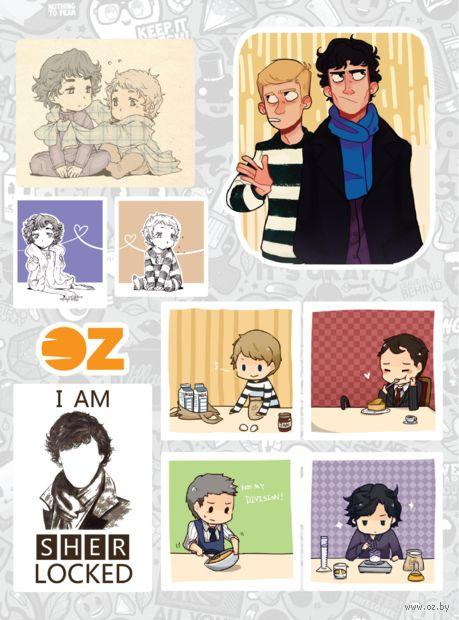 """Набор наклеек """"Шерлок"""" — фото, картинка"""