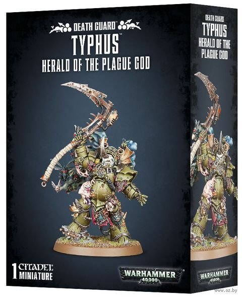 Warhammer 40.000. Death Guard. Typhus - Herald of the Plague God (43-53) — фото, картинка