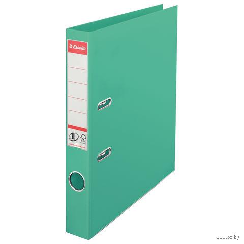 Папка-регистратор А4 с арочным механизмом, 50 мм (ПВХ, светло-зеленая)