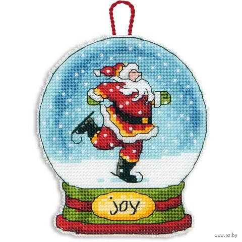 """Вышивка крестом """"Снежный шар. Радость"""" (арт. DMS-70-08905)"""