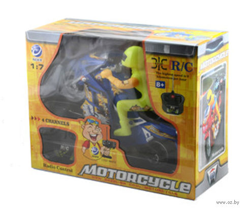 """Игрушка на радиоуправлении """"Мотоциклист"""""""