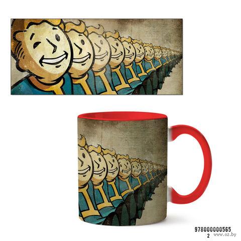 """Кружка """"Fallout"""" (565, красная)"""