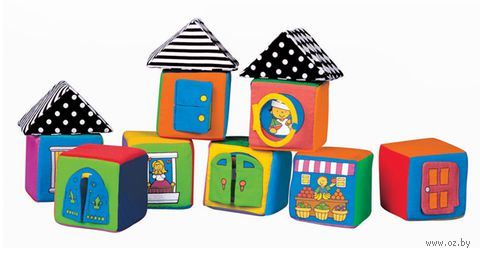 Кубики мягкие (11 шт; арт. KI13003)