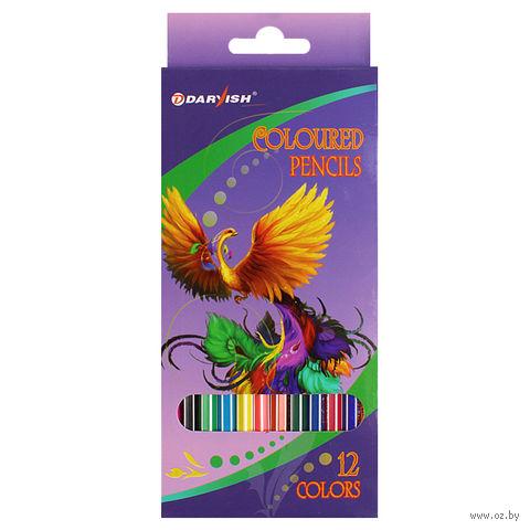 "Цветные карандаши ""Darvish"" (12 цветов; арт. DV-118-12)"
