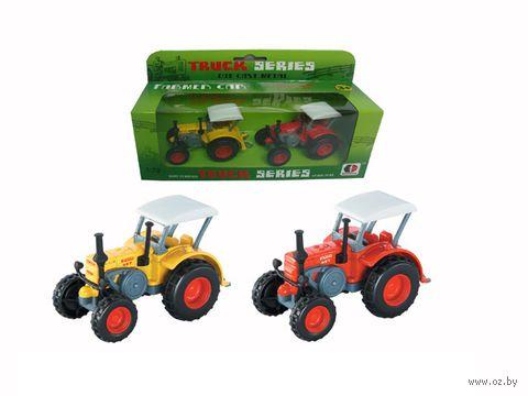 """Игровой набор """"Трактор Фермер"""" (2 шт.) — фото, картинка"""