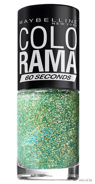 """Лак для ногтей """"Colorama"""" (тон: 334, мятное мерцание) — фото, картинка"""