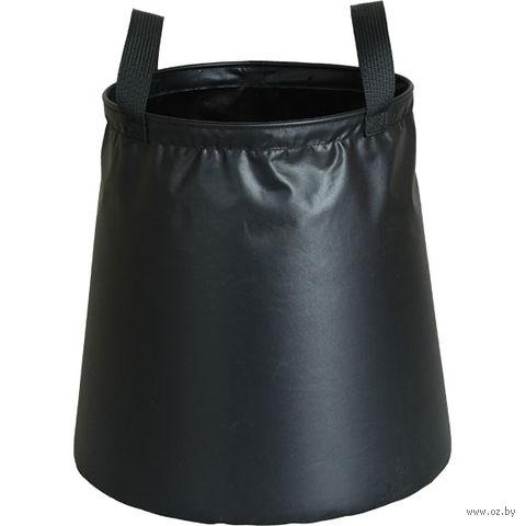 Ведро походное среднее v.2 (15 л; чёрное) — фото, картинка