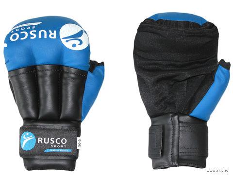 Перчатки для рукопашного боя (6 унций; синие) — фото, картинка