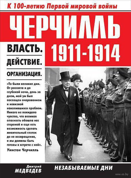 Черчилль. 1911-1914. Власть. Действие. Организация. Незабываемые дни. Дмитрий Медведев